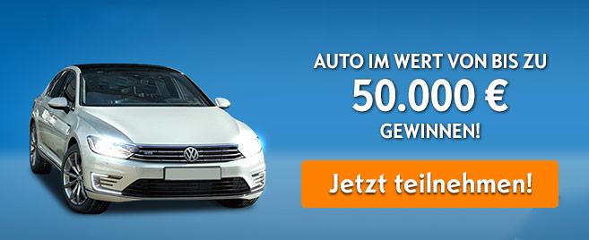 Volkswagen Gewinnspiel