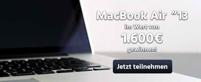 Macbook Air Gewinnen